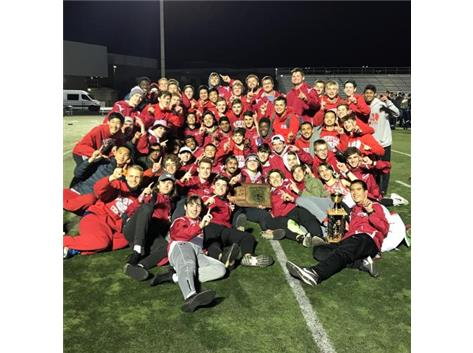 DVC Outdoor Track Champions 2018-19