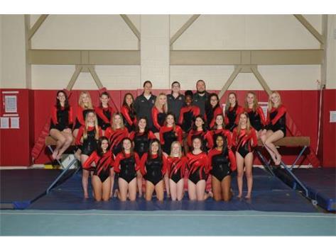 JV Girls Gymnastics 2019-20