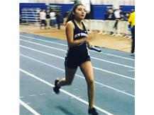 Trizy finishes strong for her 4x400 on her birthday!