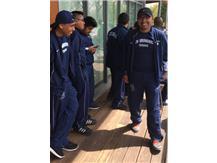 Senior captain Antonio Pelaez enjoys time with his Zebra brothers in Ivy territory