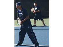 2nd doubles team of Andres Jimenez Castillo and Alfredo Flores