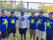 Pictured L to R: Bladimir Peralta Guzman, Axel Jimenez, Coach  Mitchell, Alfredo Flores, Andres Jimenez Castillo and Cristofer Gomez Martinez