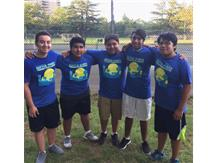Pictured L to R:  B. Peralta-Guzman, Axel Jimenez, Alfredo Flores, Andres Jimenez Castillo and Cristofer Gomez Martinez