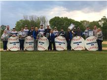 2017 Norsemen Baseball Sr Night Photo Courtesy NCHS Boosters