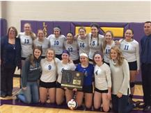 2017 IHSA Class 1A Volleyball Supersectional Champions