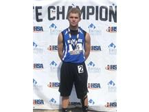 Connor Swanson 8th Place 300M Hurdles IHSA State Track Meet