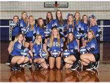 2018-2019 Varsity Volleyball Team