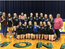 2018 Lady Norsemen Volleyball - LTC Champions