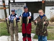 NCHS Bass Fishing Trny Title April 18, 2019