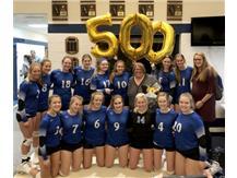 500th Career Win