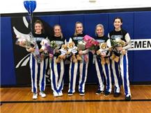Girls Basketball Senior Night 1/16/20