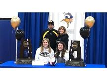 Volleyball Player Signing