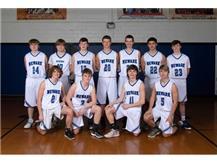 2020-2021 JV Boys Basketball Team