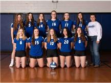 2021 Lady Norsemen Freshmen Volleyball Team