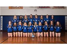 2021 Lady Norsemen Varsity Volleyball Team
