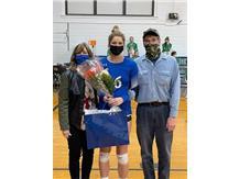 2021 Volleyball Senior Night