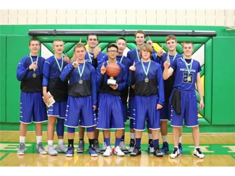 2016 Seneca Thanksgiving Tournament Varsity Champions photo courtesy Mrs. Myre