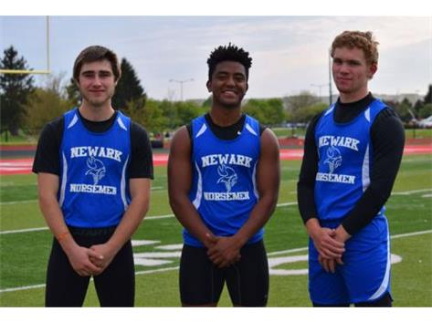2016-2017 Newark Track Team photo courtesy Mrs. Swanson