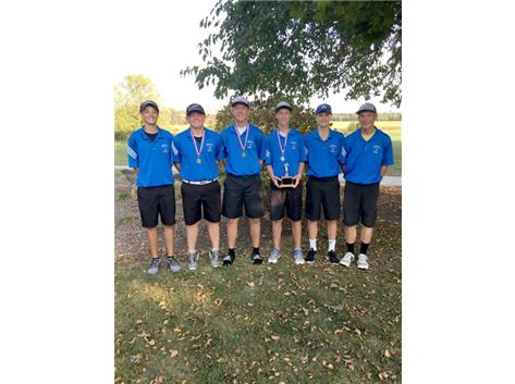 2017 Norsemen Golf Team - LTC Tournament Champions