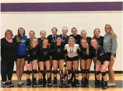 2018 Lady Norsemen Volleyball - Manteo Tournament Champions