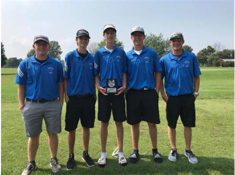 2018 Norsemen Golf Team - 3rd Place Putnam Co Inv
