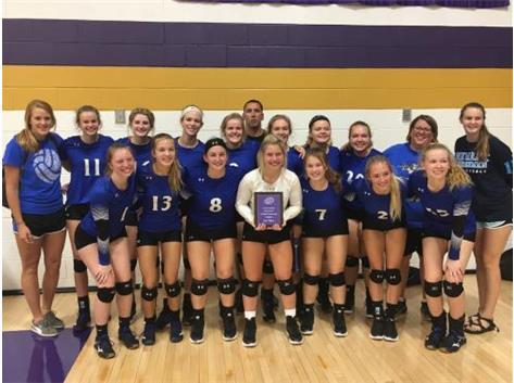 2018 Lady Norsemen Volleyball - 3rd Place Mt. Pulaski Fall Invitational