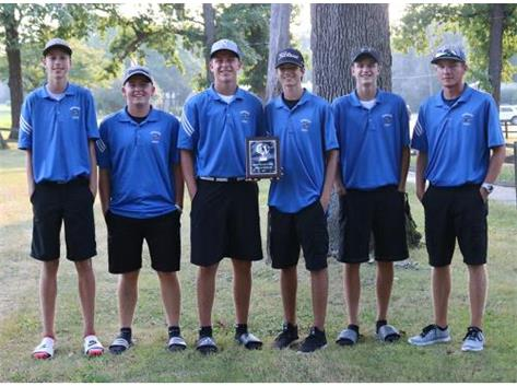 2018 Norsemen Golf Team - 3rd Place Sandwich Trny