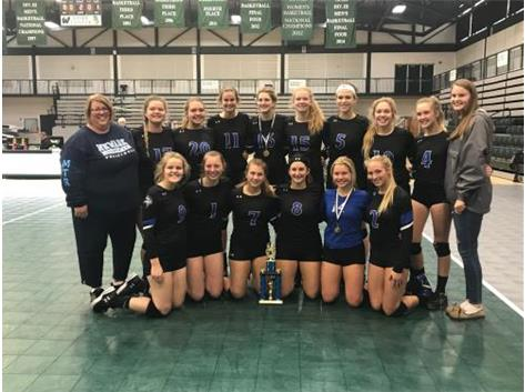 2018 Lady Norsemen Volleyball - 2nd place finish at Illinois Wesleyan Tournament