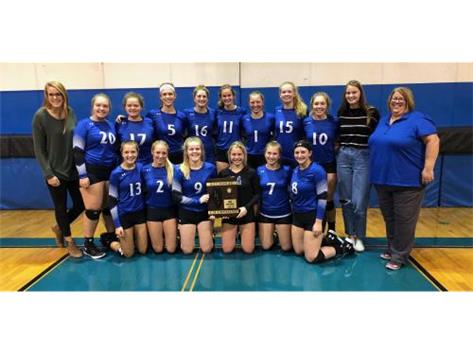 2018 Lady Norsemen Volleyball - Regional Champions