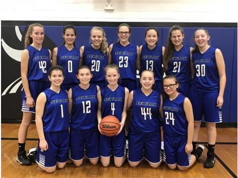 2018-2019 Lady Norsemen JV Basketball