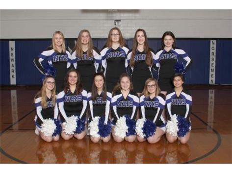 2018-2019 Cheerleading Team