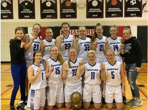 2019 Little Ten Conference Champions!, January 18, 2018