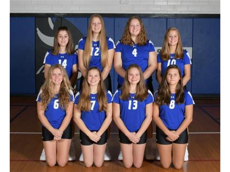 2019-2020 Freshmen Volleyball Team