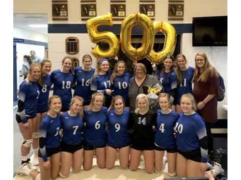 500th Career Win