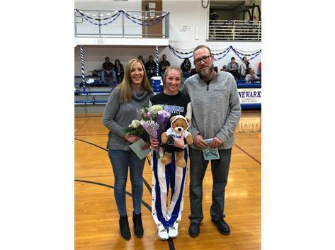 Girls Basketball Senior Night 1/16/20