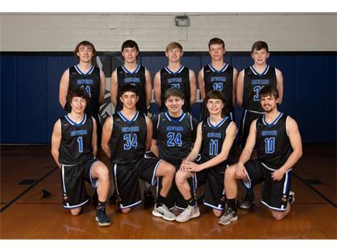2021 Varsity Boys Basketball Team