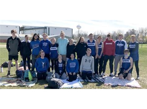 2021 NCHS Track Team