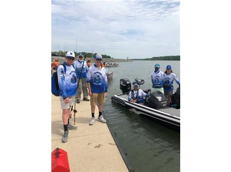 NCHS Bass Fishing Team at State, 5/20-5/23