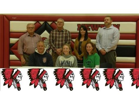 Aliya Signing with Mount Vernon to play soccer
