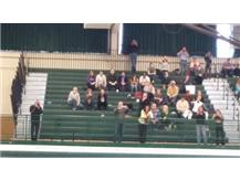 Some varsity parents out to support the team.