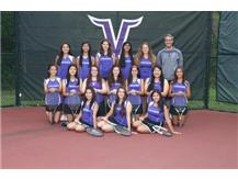 Sophomores and juniors of JV tennis