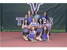 Freshmen of JV tennis
