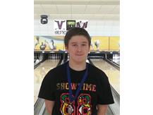 Avery Wolf was selected by the coaches as the varsity team's MVP at the Cougar Classic in Vernon Hills.