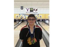 Gabriel Giryech was selected by the coaches as the JV team's MVP at the Cougar Classic in Vernon Hills.