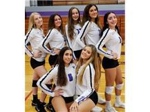 Juniors of 2019 Niles North Varsity Volleyball  Team