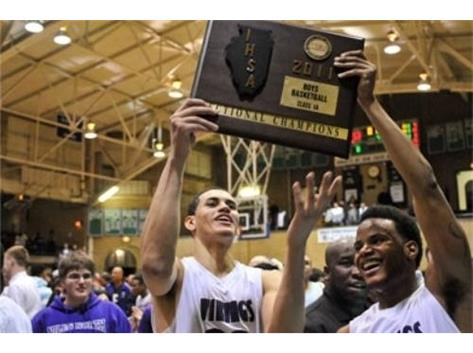 2016 NBA 2nd-Round draft pick, Abdel Nader hoists 2011 Sectional Championship!