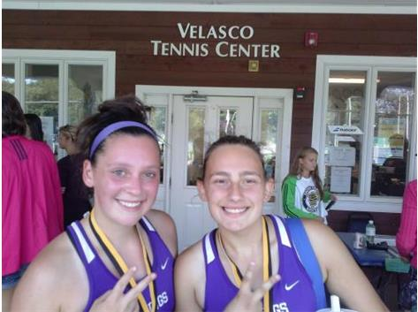 1st Doubles 2014 Cyclone Invitational Runners Up