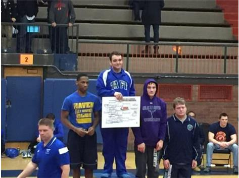 Cameron Cichowicz- IHSA Returning Regional finalist and Sectional Qualifier