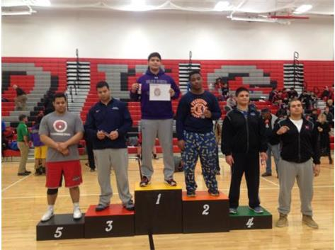 2015-2016 Central Suburban League Conference Champion- Dylan Ramirez