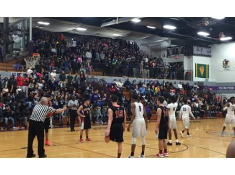 Packed house against Niles West
